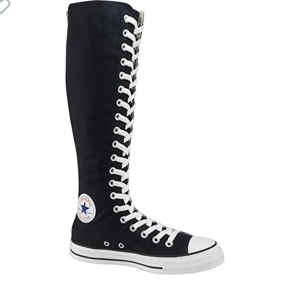 11661bd933a Converse Shoes - Converse all star lace up knee high sneakers